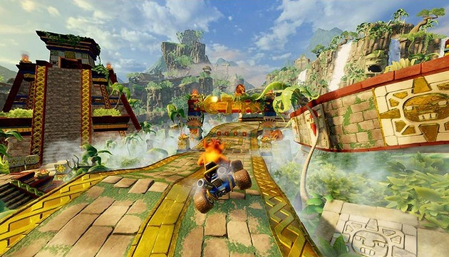 CTR gameplay