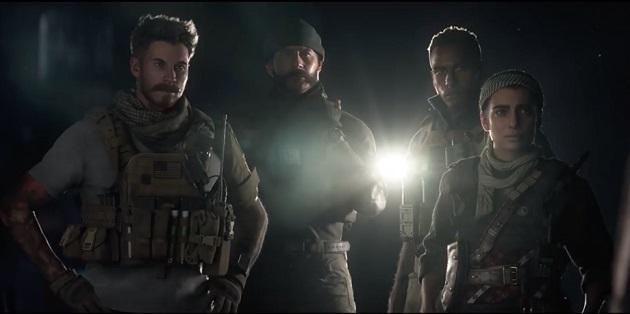 Modern Warfare crew